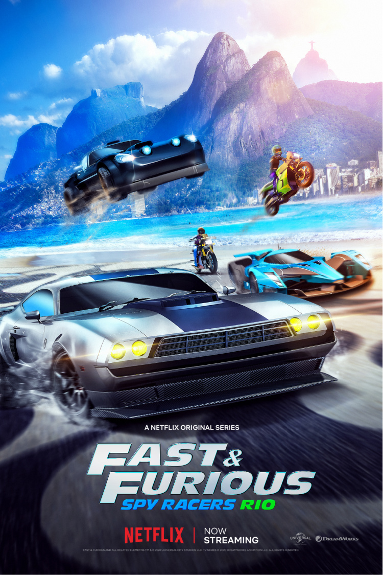 fast and furious spy racers poster