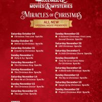 miracles of christmas movie list