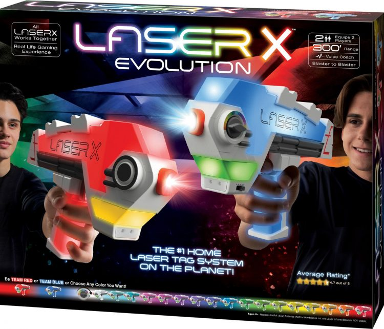 laser x evolution box