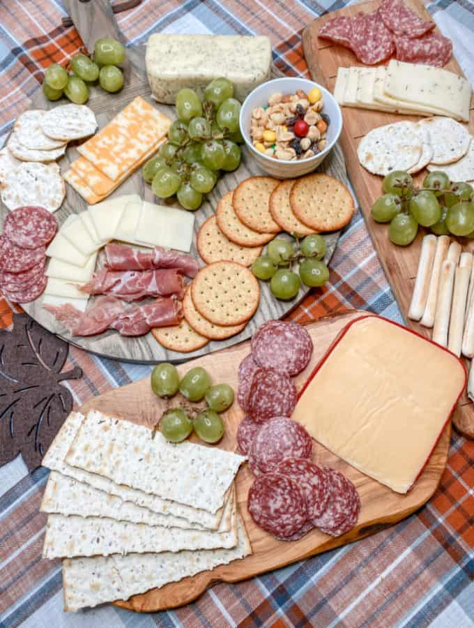 meat and cheese party board